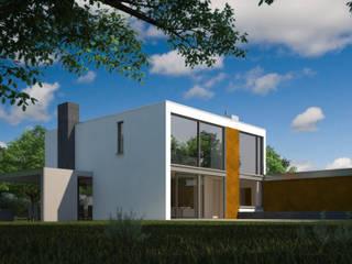 Verbouwing woonhuis JDGE Valkenswaard :  Huizen door 2architecten, Modern