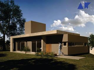Maisons modernes par AR arquitectos Moderne
