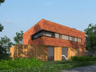 Villa JDSC Eindhoven :  Huizen door 2architecten, Modern