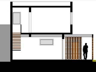 Casa OM. (En Construcción):  de estilo  por En obra arquitectos