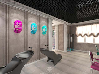 Spa modernos de Студия дизайна интерьера Руслана и Марии Грин Moderno
