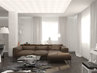 Salas de estilo minimalista de Brama Architects Minimalista