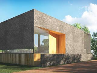 Woonhuis SOLID:  Huizen door 2architecten, Modern