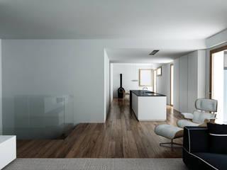 Casa SP Soggiorno minimalista di 02.aa architetti associati Minimalista