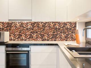 Önwall. Handmade wood mosaic tiles. : modern  by Önwall, Modern