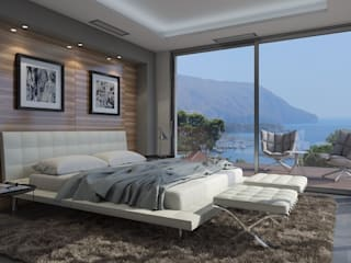 Modern style bedroom by Miralbó Excellence Modern