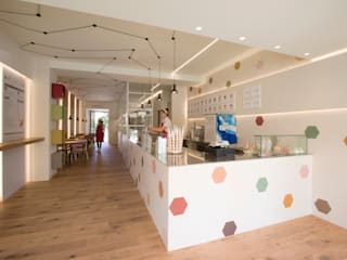 La gelateria Mosaic del Sur Bar & Club moderni