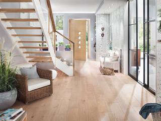 Elfa Deutschland GmbH Scandinavian style corridor, hallway& stairs Glass Transparent