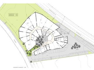 """Wettbewerb: BSZ Stiftung – Projekt """"Ceratida"""",  8862 Schübelbach: modern  von Fröhlich Architektur AG,Modern"""