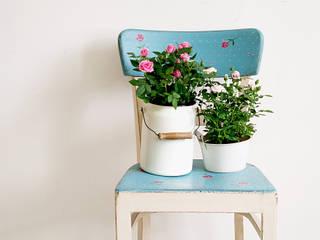 Różane Krzesło: styl , w kategorii  zaprojektowany przez Treefabric