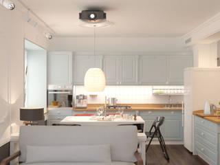 에클레틱 주방 by Brama Architects 에클레틱 (Eclectic)