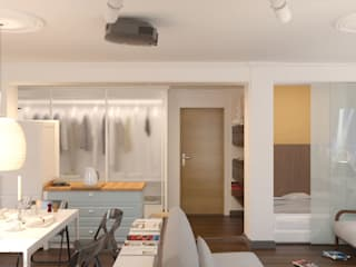 에클레틱 드레싱 룸 by Brama Architects 에클레틱 (Eclectic)