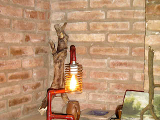 Lamparas Vintage Vieja Eddie Living roomLighting Besi/Baja