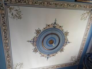 роспись потолка: Гостиная в . Автор – Абрикос