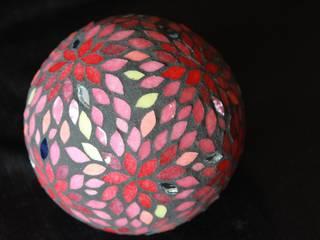 Sphère mosaïque par Mosa-Louisa Éclectique