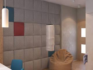Визуализации Детских комнат Детские комната в эклектичном стиле от Alyona Musina Эклектичный