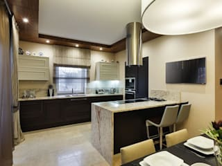 Дом в Сарьгах: Кухни в . Автор – Юдин и Новиков