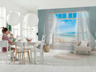Dining room by DeColor, Modern