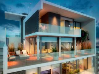 Maisons de style  par AMADO arquitectos, Moderne