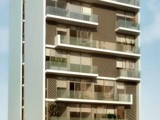 Bureau de style  par AMADO arquitectos, Moderne