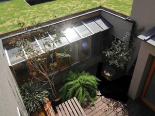 House in Higashinada: Mimasis Design/ミメイシス デザインが手掛けた庭です。