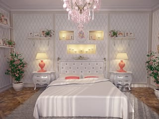 Design by Bley – Bedchamber White&Pink:  tarz