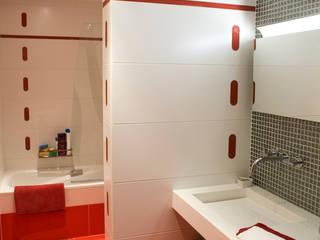 모던스타일 욕실 by JORGE RIQUELME | DISEÑO INTERIOR 모던