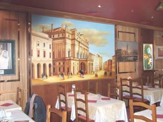 Peinture murale restaurant Pinar Art ArtPhotos et illustrations