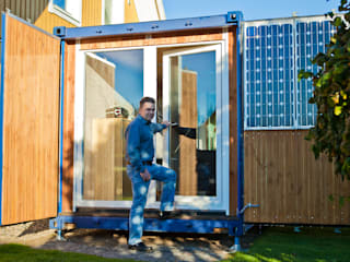 Stefan Brandt - solare Luftheizsysteme und Warmuftkollektoren Case in stile minimalista