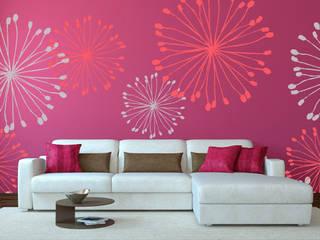 Diseño de Motivo Dandelion Salones de estilo minimalista de Luis Quesada Design Minimalista