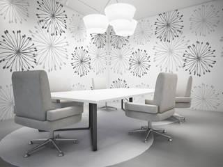 Diseño de Motivo Dandelion Estudios y despachos de estilo minimalista de Luis Quesada Design Minimalista
