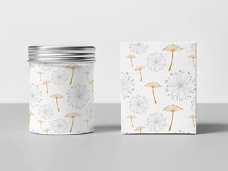Diseño de Motivo Dandelion de Luis Quesada Design Minimalista