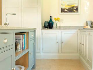 two shades of grey Chalkhouse Interiors Kitchen Wood Grey