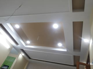 Interior Painting WOrk:  Dining room by Quik Solution