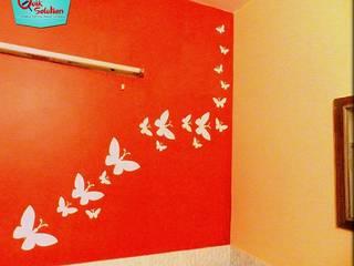 Wall Fashion:  Nursery/kid's room by Quik Solution