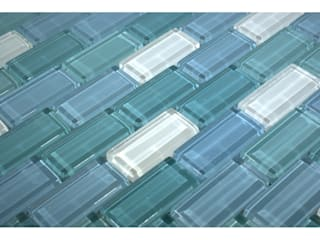 Crystal Glass Mosaic Tiles The Mosaic Company BathroomDecoration