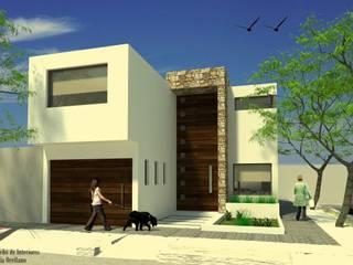 Proyecto AB Casas modernas: Ideas, imágenes y decoración de Arq-Diseño Interior Moderno