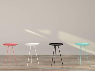Mesa auxiliar minimalista Indal.:  de estilo  de Studio Martell