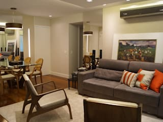 Catharina Quadros Arquitetura e Interiores Living room