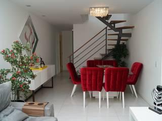 Modern Yemek Odası Catharina Quadros Arquitetura e Interiores Modern