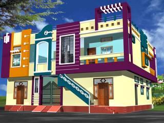 RESIDENTIAL Modern houses by MADINA ASSOCIATES Modern