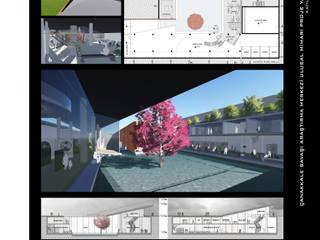 ArtıEksi7 Mimarlık Atölyesi – Çanakkale Savaşı Araştırma Merkezi Mimari Proje Yarışması, 2015: modern tarz , Modern