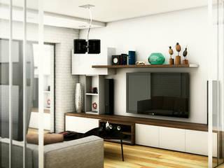 INTERIOR-PLAYROOM Salas multimedia modernas de ARQUETERRA Moderno