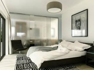 Modern style bedroom by ARQUETERRA Modern