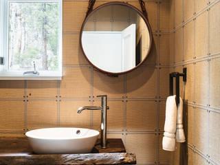 Truckee Residence Antonio Martins Interior Design Inc Eclectic style bathroom