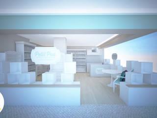 Andreia Louraço - Designer de Interiores (Email: andreialouraco@gmail.com) Oficinas y Tiendas Madera Blanco