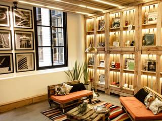 Home Office | SUSTENTABILIZANDO EL DEBER Y EL PLACER Livings industriales de G7 Grupo Creativo Industrial