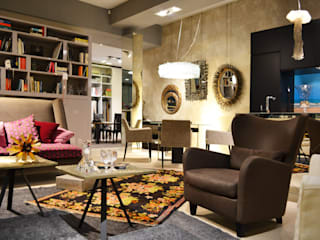 bilune studio Eclectic style commercial spaces