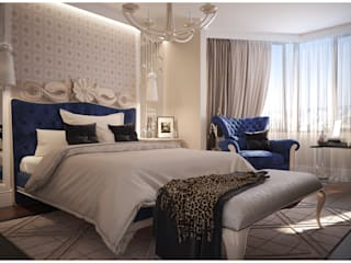 Dormitorios de estilo moderno de GM-interior Moderno