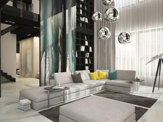 Salon moderne par GM-interior Moderne
